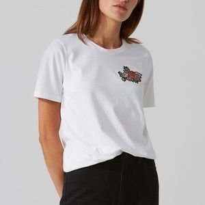 FRANK AND OAK Embroidered T-Shirt